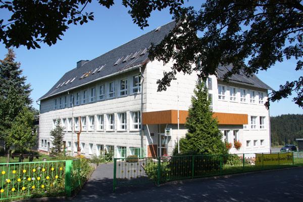 Schulgebäude-Steinheid