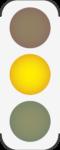 Ampel-auf-Gelb